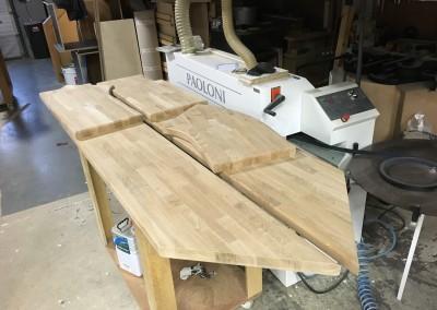 Oak Wood Milled Bartops 3
