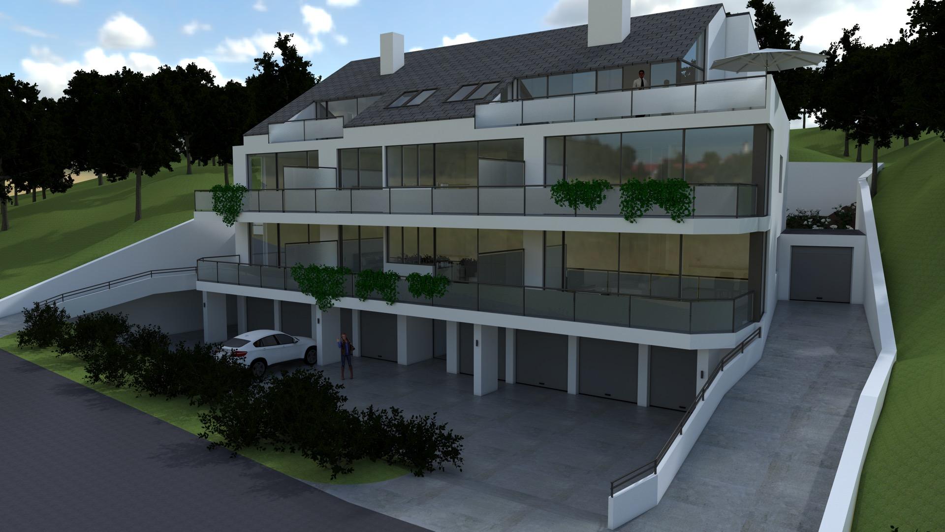 Appartementscomplex in Sprockhövel, Duitsland