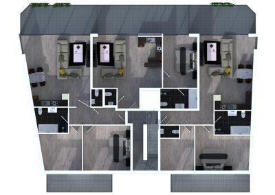 Sprockhövel 11 - Bovenaanzicht verdieping 1