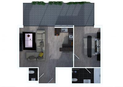 Sprockhövel 09 - Bovenaanzicht appartement 2